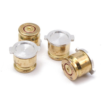 4Pcs Replacement Metal Bullet Buttons Mod Shell Set Kit For PS4 For PS3 Controller