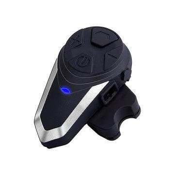 BT-S3 1000m Motorcycle Helmet BT Intercom Waterproof FM Interphone