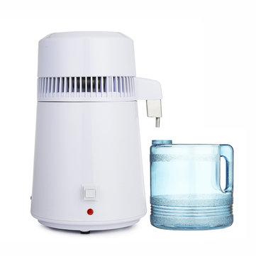 Filtro interno do purificador puro elétrico de aço inoxidável do destilador da água de 750W 4L