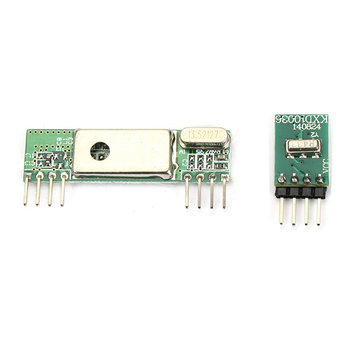 Superheterodyne 3400 Wireless Receiver Module With 433RF Transmitter Board