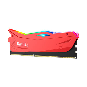 Ramsta DDR4 3000MHz 16G/8G memory Strip Light with Vest Suitable For Desktop