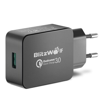 [Qualcomm Certified BlitzWolf® BW-S5 QC3.0 18W USB Charger EU Adapter With Power3S Tech