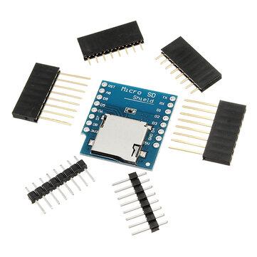 Geekcreit Micro SD Card Shield For D1 Mini TF WiFi ESP8266 Compatible SD Wireless Module For