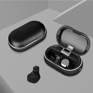 Nướng X26 TWS Bluetooth 5.0 Tai nghe không dây thực sự Smart Touch không thấm nước Âm thanh nổi Hifi Tai nghe có hộp sạc kim loại cho Iphone Xiaomi