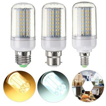 Dimmable E27 E14 B22 9W SMD4014 Lâmpada de milho LED AC110V