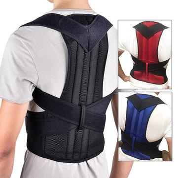 Xmund XD-069 Sostegno per la schiena Protezione postura spalla Sollievo dal dolore Cinturino correttore Cinturino Rinforzo Ortesi Fissaggio del supporto Cintura Correzione dell'humpback