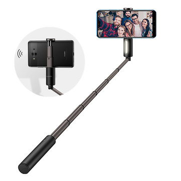 Huawei Honor Extendable bluetooth Folding Selfie Stick Monopod With LED Fill Light For Mobile Phones