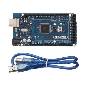 Geekcreit® MEGA 2560 R3 ATmega2560-16AU MEGA2560 Development Board With USB...