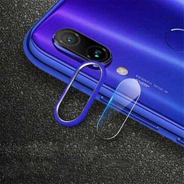 Bakeey ™ Anello antigraffio con cerchi in metallo + telefono in vetro temperato fotografica lente Protector per Xiaomi Redmi Nota 7 / Nota 7 Pro