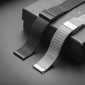 Bakeey 18/20/22/24mm Watch Strap Milan Stainless Steel Watch Band for DW watch