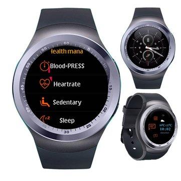 KALOAD Y1 PLUS 1.54 'IPSスクリーンスマートウォッチ心拍数血圧モニターフィットネススポーツブレスレット