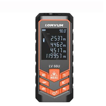 Medidor de distancia láser Medidor digital Nivel automático Buscador de rango 40-120M