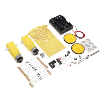 WangDaTao YD-3WDT Non-programming Intelligent Tracking Car Production Kit