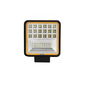 Buy DC 9-30V Work Light Bar 126W 12600lm IP68 Waterproof 45 LED White/Golden with Litecoins with Free Shipping on Gipsybee.com