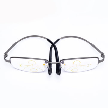 KCASA Customized Intelligent Reading Glasses Progressive Multifocal Lens Presbyopia Memory Alloy Frame