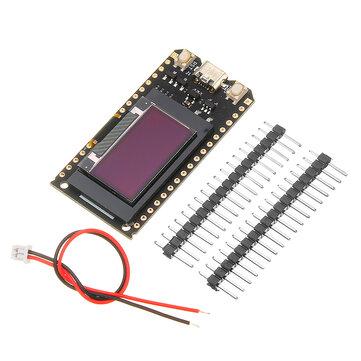 Geekcreit® 0.96 Inch ESP32 V2.0 Modul WiFi OLED + bluetooth ESP-32 Ganda dan OLED 4 MB Untuk Arduino