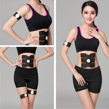 Abs Stimulator Muscle Toner Abdominal Trainer for Men Women Abdomen Arm Leg...