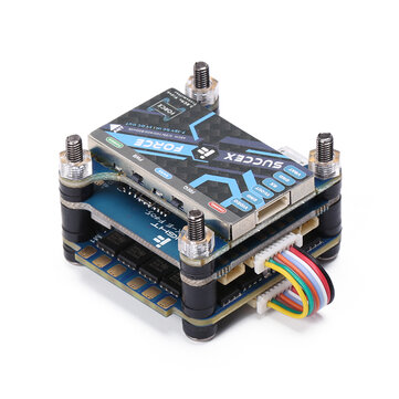 30.5x30.5mm iFlight SucceX-E 2-6S F4 Flight Controller 45A BLheli_S Brushless ESC SucceX Force 800mW VTX Stack for RC Drone FPV Racing