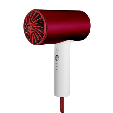 SOOCAS H3S Anion Hair Dryer Negative Ion 360-degree Rotatable Red Quick Dry Hair Dryer from Xiaomi Youpin