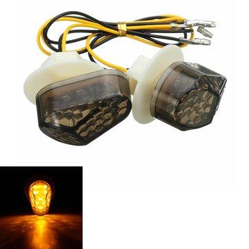 Incasso LED indicatore di direzione luce di segnale Per Yamaha FZ1 FZ6R YZF R1 R6 R6S