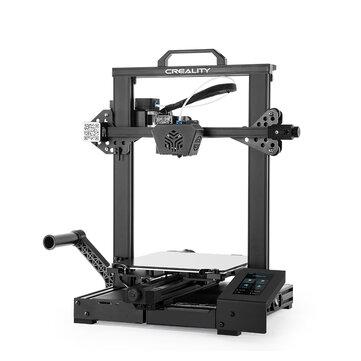 Creality 3D® CR_6 SE Leveling_free 3D Printer Kit 235*235*250mm Print Size 32_bit silent motherboard_TMC2209 Motor Drivers_Carborundum Glass Printing Platform_Photoelectric Filament Sensor Resume Print