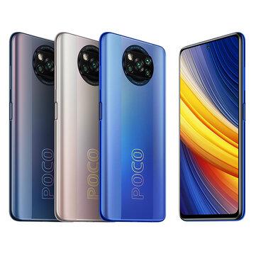 POCO X3 Pro Global Version Snapdragon 860 8GB 256GB 6.67 inch 120Hz Refresh Rate 48MP Quad Camera 5160mAh Octa Core 4G Smartphone Coupon Code! - $266.2