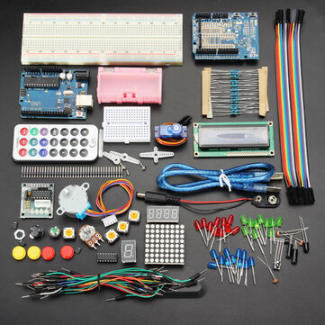Geekcreit UNOR3 Basic Starter Learning Kits No Battery Version Geekcreit for Arduino - products that work with official Arduino boards