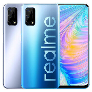 Realme Q2 5G CN Version 6.5 inch FHD+ 120Hz Refresh Rate Android 10.0 5000mAh 30W Superdart Charge 4GB 128GB Dimensity 800U 48MP Triple Rear Camera Smartphone Dimensity 800U 48MP Triple Rear Camera Smartphone