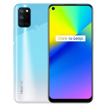 Rrealme 7i Indonesia Version 6.5 inch HD+ 90Hz Refresh Rate 5000mA 64MP AI Quad Camera 8GB 128GB Snapdragon 662 Octa Core 4G Smartphone