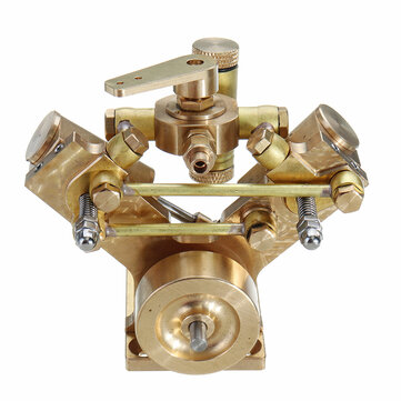 Microcosm Micro Scale M2B Twin Cylinder Marine Steam Engine Model Stirling Engine Gift Collection