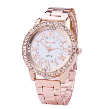 Đồng hồ đeo tay nữ thời trang kim cương