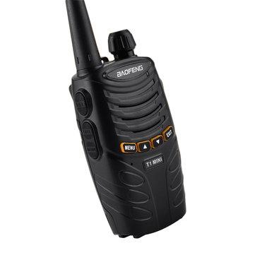 BAOFENG BF-T1MI 16 Canais 400-470 MHz Mini Ultralight Hotel Civil Handheld Rádio Walkie Talkie