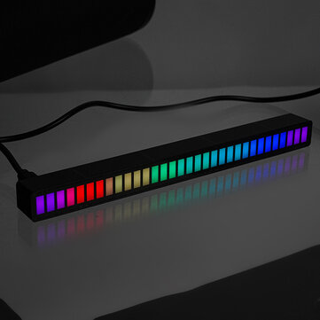 How can I buy DC 5V Pickup Level Atmosphere Light Car Interior Modification Desktop Audio Spectrum RGB Voice Control with Bitcoin