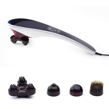 Electric Infrared Body Massager Pain Relief Hand Held Personal Full Body Power Massage Fitness Equipment