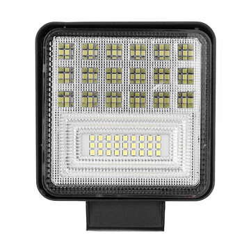 Buy 126W LED Work Light Bar Flood Spot Lights Driving Lamp Offroad Motorcycle Car Truck SUV with Litecoins with Free Shipping on Gipsybee.com