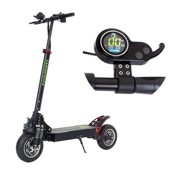 LANGFEITE L8 15Ah 48V 800W*2 Double Motor Folding Electric Scooter