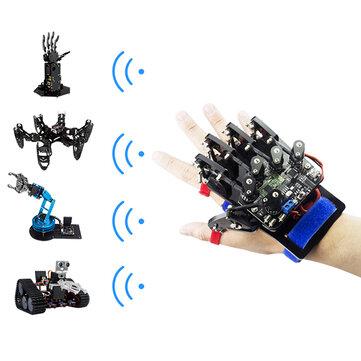 Open Source Arduino UNO Somatosensory Wearable Robot Gloves