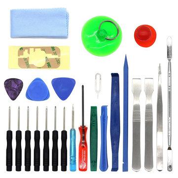 Bakeey 25Pcs Universal Pry Opening Screwdriver Set Repair Tool kit for iPhone iPad Xiaomi