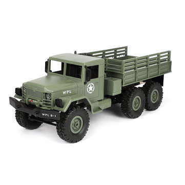US$33.99 46% WPL B16 KIT 1/16 2.4G 6WD Crawler Off Road RC Car With Light  RC Toys & Hobbies from Toys Hobbies and Robot on banggood.com