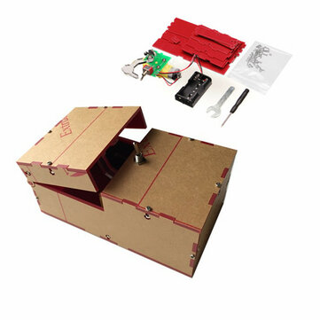 Useless Box DIY Kit Useless Machine Birthday Gift Toys Geek Gadget Fun Office Home Desk Decor