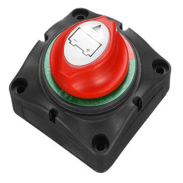 Batarya Seçici Anahtarı 12 V-48 V 300A Batarya Kes Anahtarı Ana İzolatör Anahtarları