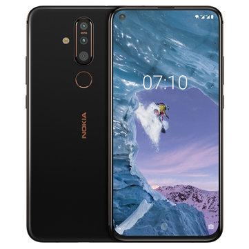 Nokia X71 6.39 inch 48MP Triple Rear Camera 6GB RAM 128GB ROM Snapdragon 660 Octa core 4G Smartphone