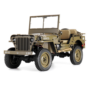 8% OFF For ROCHOBBY 1/6 2.4G 2CH 1941 MB SCALER RC Car Waternincsof Vehicle Models Fully nincsportional Control