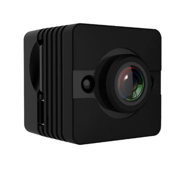 Quelima SQ12 Мини 1080P FHD Видеорегистратор Камера 155-градусная петля цикла записи ночного видения