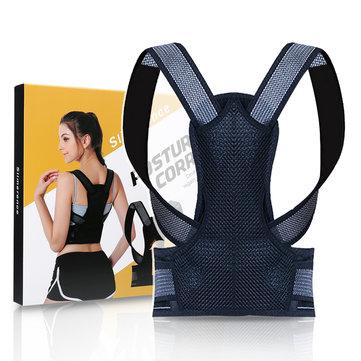 Back Posture Corrector Adjustable Back Brace Shoulder Posture Correction Lumbar Waist Support Belt Pain Relief