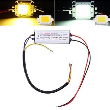 AC85-265V 33W Impermeable Alta potencia LED Driver Supply Chip SMD para la luz de inundación