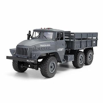 MZ YY2004 2.4G 6WD 1/12 militar camión Off Road RC Coche Crawler 6X6 juguetes