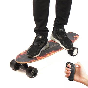 BIKIGHT 250W 18km / h Điện trượt ván không dây Điều khiển từ xa Longboard Skate Toàn bộ sàn Longboard Hoverboard cho trẻ em Người lớn