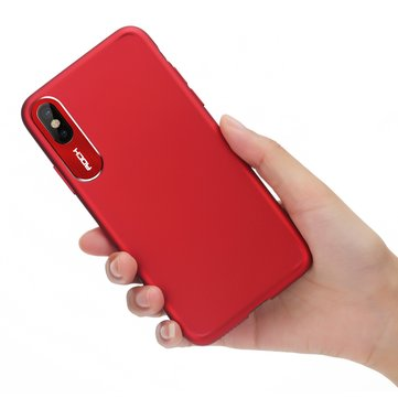 Rock Slim Camera Lens Beskyttelse Fingeravtrykk Resistant Hard PC Case For iPhone X