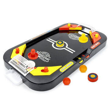 2 In 1 Ice Hockey Table Game Competitive Game Mini Soccer Table Parent-Child Interactive Children's Educational Toys